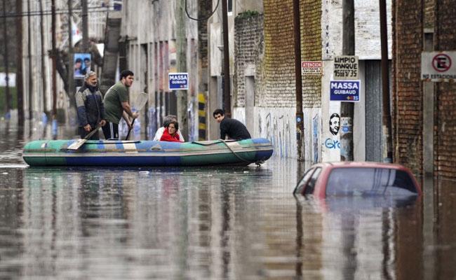 Уругвай и Парагвай ощутили действие сильного разлива речных вод
