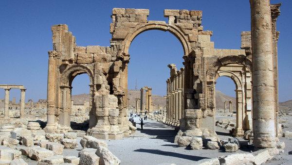 Копия разрушенной исламистами арки появится на крупнейших выставках