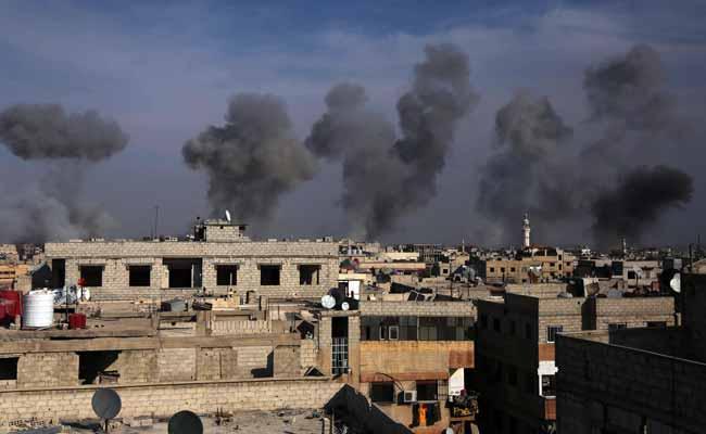 В сирийском городе Доума прошли авиаудары