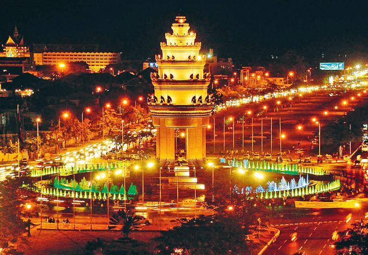 Пномпень превращается в современный туристический центр