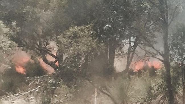 В Западной Австралии вновь бушуют пожары