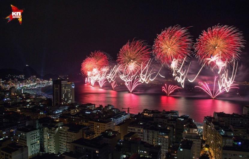 В Рио запустят в небо 34 тонны салюта
