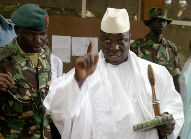 Яйя Джамме объявил Гамбию мусульманским государством