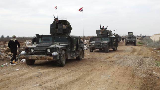 Иракская армия готовится к окончательному освобождению города Рамади