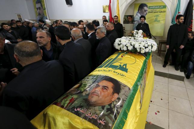 В Бейруте был похоронен Самир Кантар, один из лидеров Хезболлы