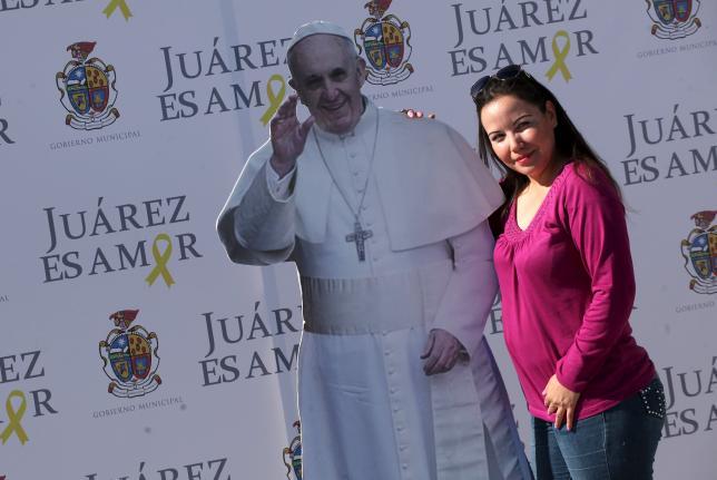Папа Римский нанесет официальный визит в Хуарес, Мексика