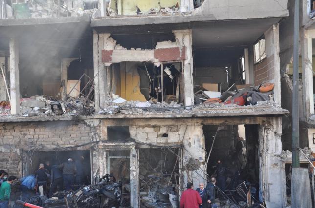 В сирийском городе Хомс произошел теракт