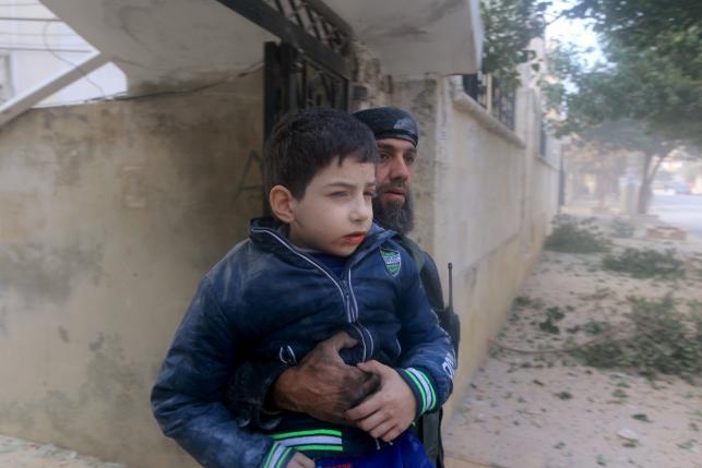 В сирийском городе Идлиб прошли авиаудары