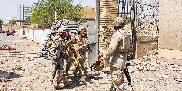 В Ираке зарегистрировано нападение на военную базу в Тикрите
