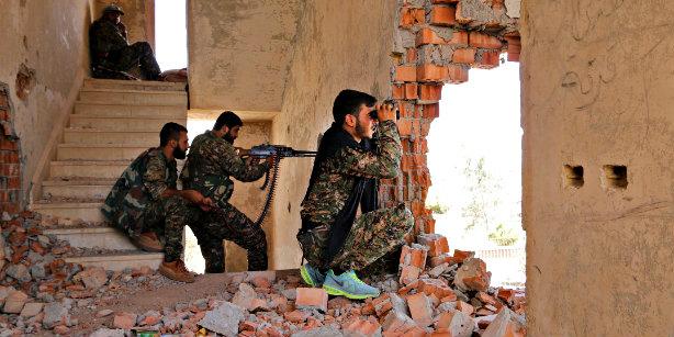 Сирийские курды готовят атаки на границы с Турцией