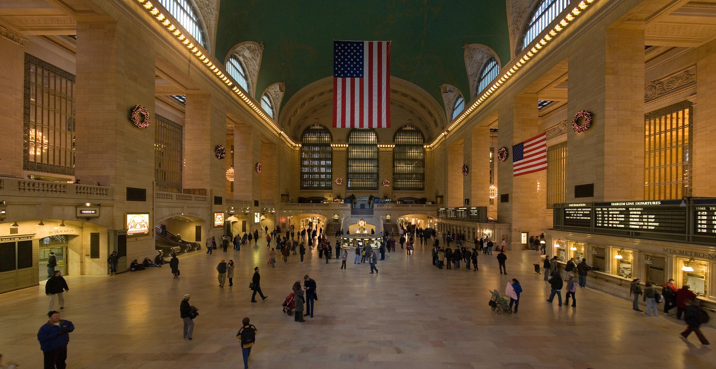 Центральный вокзал Нью-Йорк, США