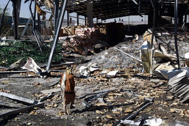 Саудовская коалиция продолжает бороться с движением Хоути в Йемене