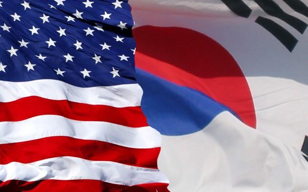 US-Korea-Flags