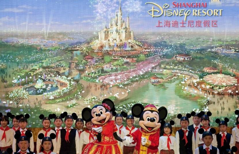 Дисней откроет свой парк в Шанхае