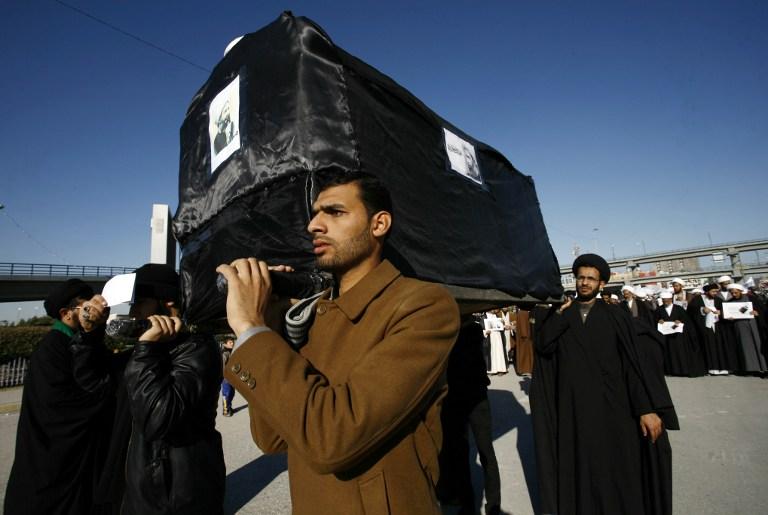 IRAQ-SAUDI-DIPLOMACY-EXECUTION-DEMO