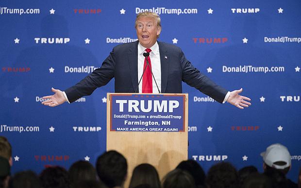 Трампу аплодировала толпа рабочих Нью-Гемпшира