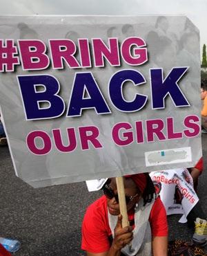 Организация «Верните наших девочек» провела марш