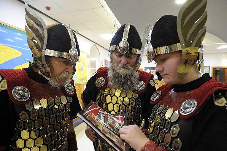 Шетландские острова захватили викинги
