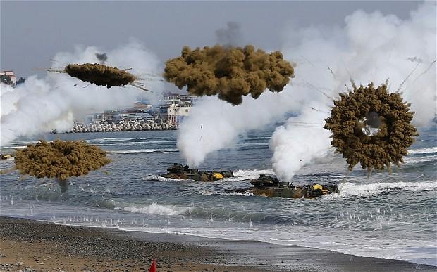 США и Южная Корея моделируют ядерный удар по Северной Корее