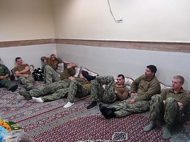 Иранское правительство наградило иранских морских офицеров