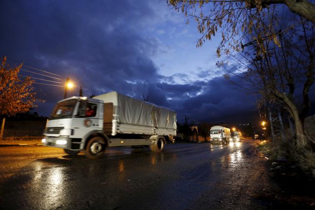 В Сирию продолжает поступать гуманитарная помощь