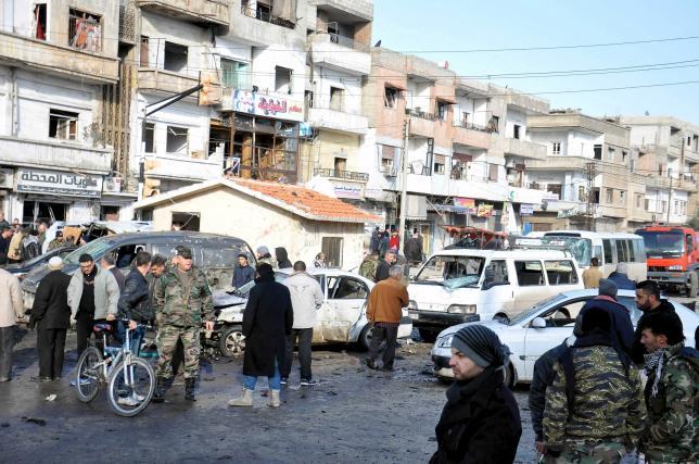 В городе Хомс, Сирия произошел теракт: 24 погибших