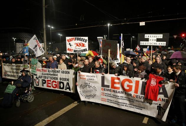 В Германии зарегистрировано нападение хулиганами на мигрантов
