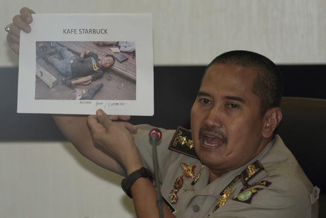 Индонезийская полиция объявила список пяти участников теракта в Джакарте