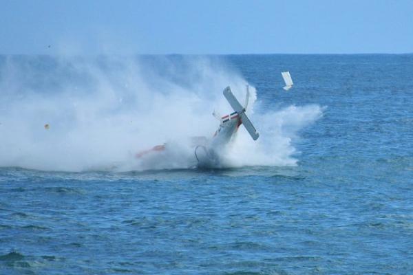 Полиция считает падение самолета умышленным