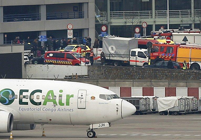Брюссель застыл после террактов