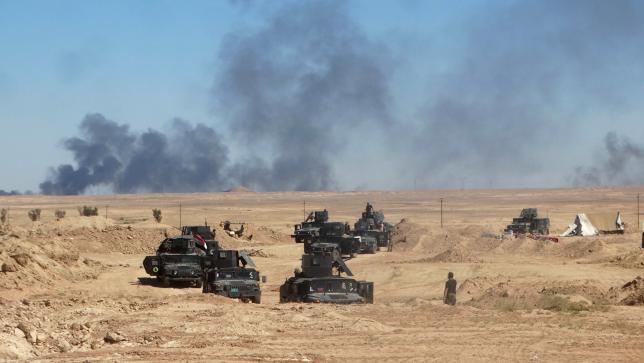 Иракские войска продвигаются в направлении города Хит
