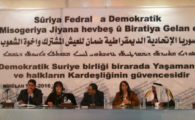 Сирийские курды одобрили создание федеральной автономии