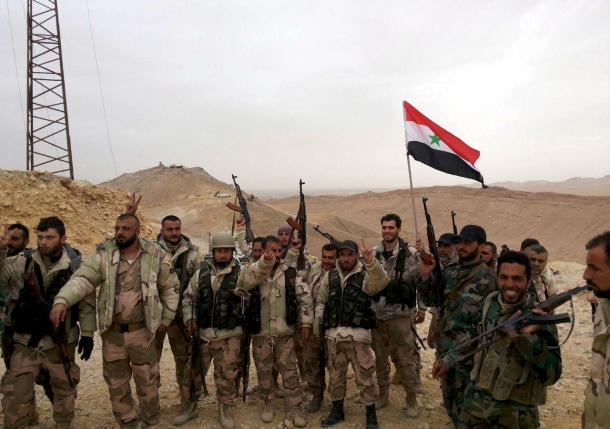 Сирийская армия окончательно отбила Пальмиру