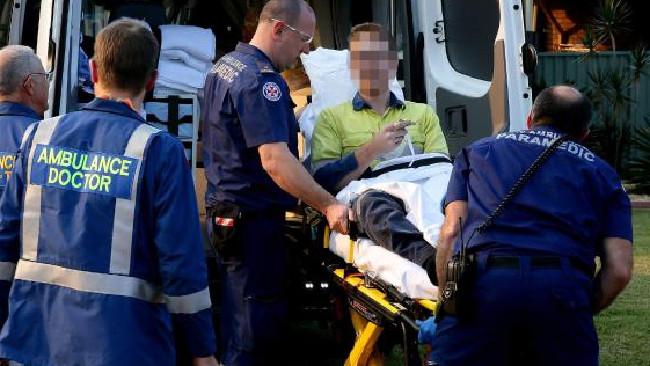 Молодой человек попал в больницу с шокирующими травмами