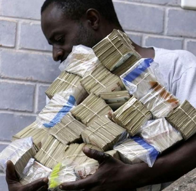 Зимбабве начнет печатать собственные доллары