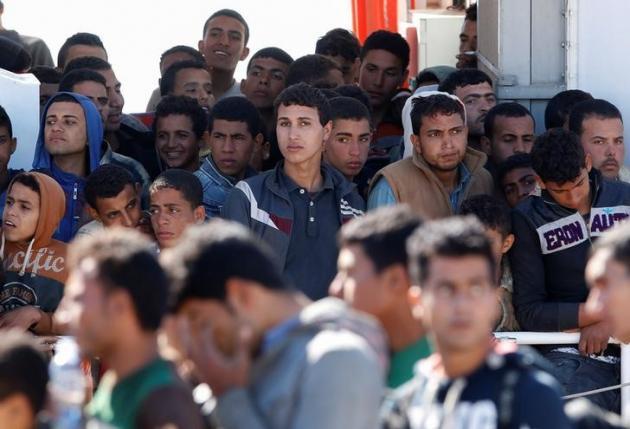 Новая волна мигрантов в Италии