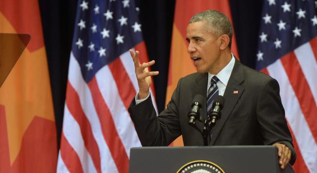 Obama speaks in Hanoi
