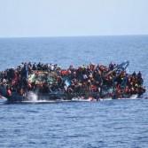 За прошедшую неделю утонуло около 900 мигрантов