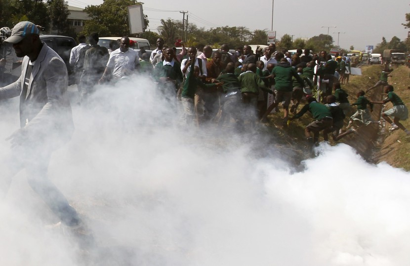 В Кении демонстрацию разогнали стрельбой на поражение