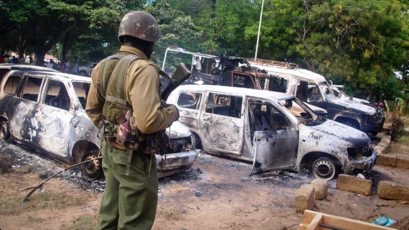 В Уганде боевики атаковали полицейский участок