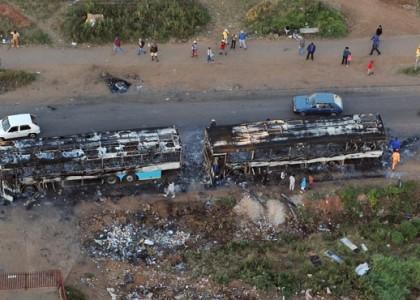 В ЮАР проходят массовые беспорядки