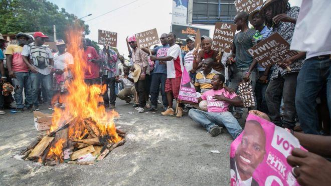 В Гаити аннулируют результаты президентских выборов