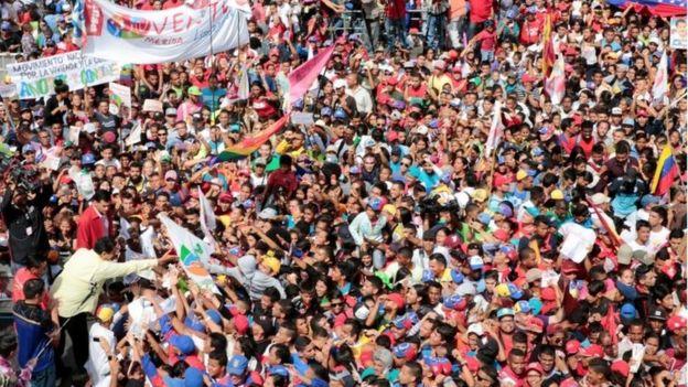 Венесуэла ждет решения по референдуму