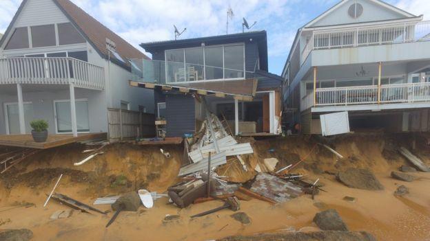 Побережье Восточной Австралии пострадало от шторма