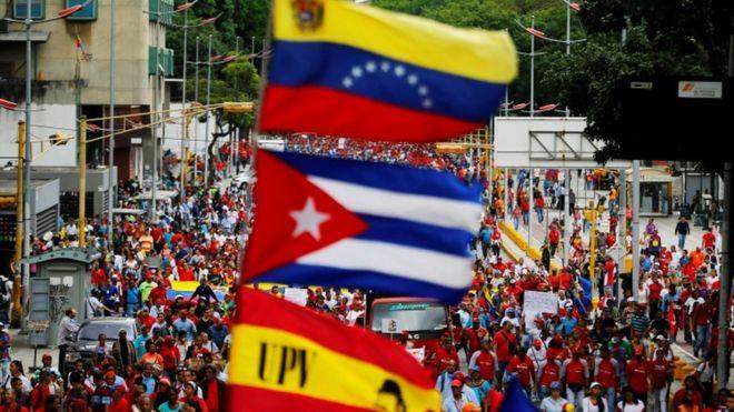 Правительство Венесуэлы готово раздавать еду