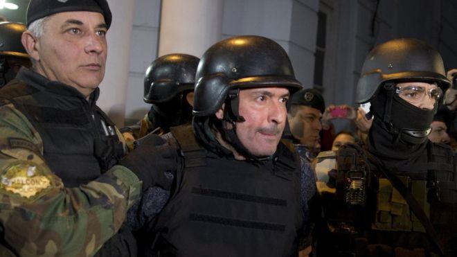 В Аргентине задержан экс-министр общественных работ