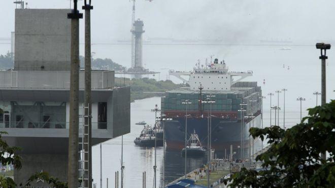 В Колумбии торжественно открыли модернизированный Панамский канал