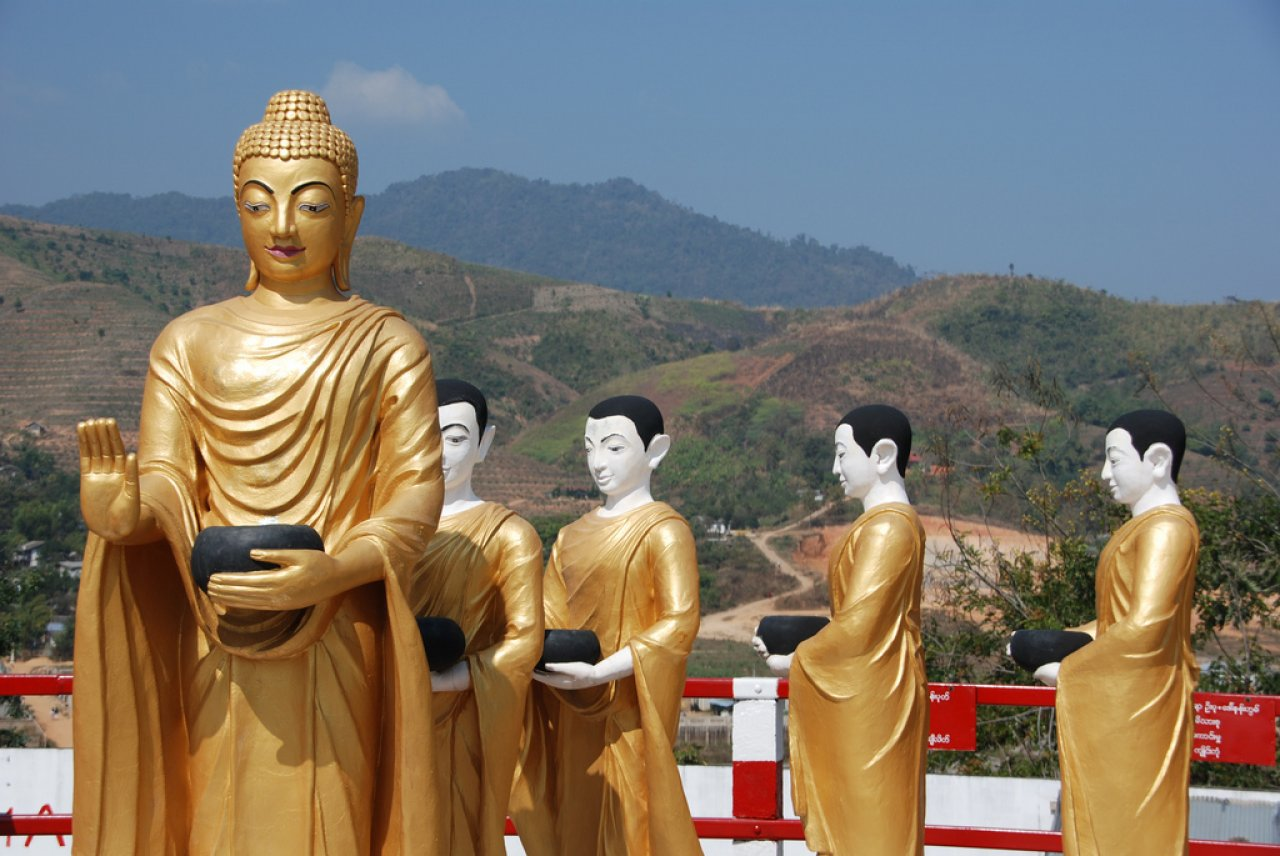 Myanmar-tarihi-mekanları