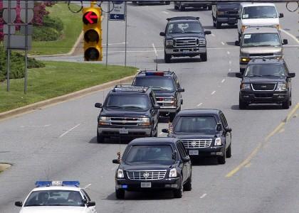 Водитель получил 2 года тюрьмы за блокировку президентского кортежа