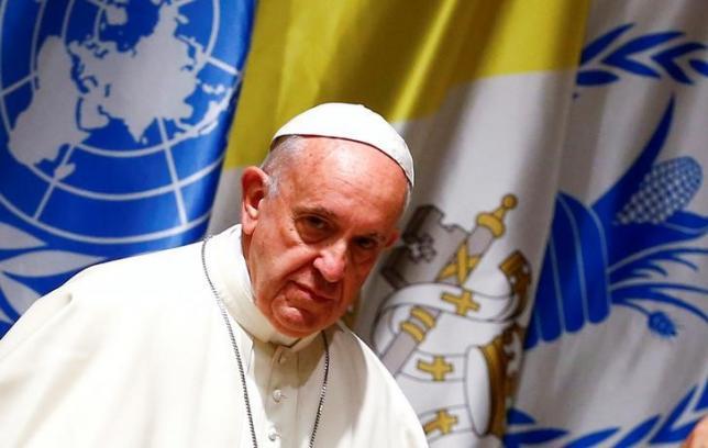 Папа Римский осудил использование голода в качестве военной меры